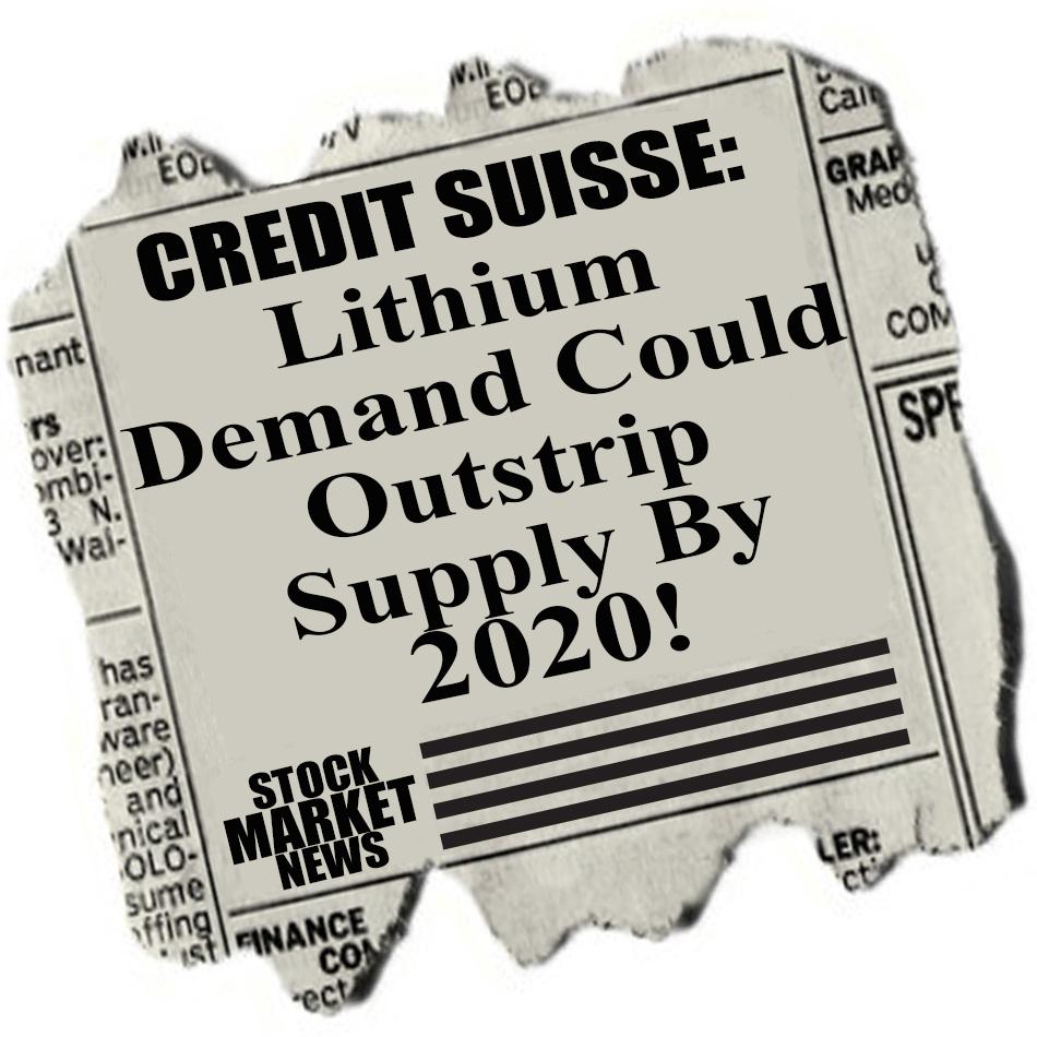 credit suisse lithium