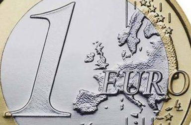 euro hits three year high